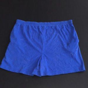 ($1) Lindsay Stevens Maternity Blue Shorts